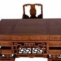 老榆木家具 仿古家具 明清经典榆木家具 纯实木办公桌