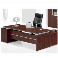 特惠精心打造办公大班台 现代办公简约老板桌 板式家具定制直销