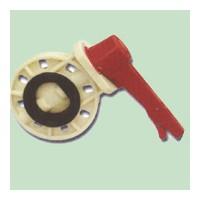 供应汇通达型号齐全ABS蝶阀/ABS管材管件