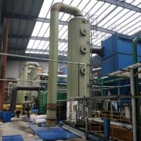 玻璃钢脱硫塔砖厂 酸雾尾气净化塔吸收塔 化工喷淋塔管道管件