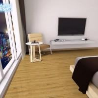 杜龙免胶地板 自粘地板 PVC地板革塑料地板胶塑胶板 地板纸 防水
