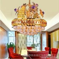 供应 玖玖炫灯饰 中山水晶灯餐厅吊灯客厅灯具现货新款灯具