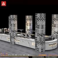 迪克商用炉具大理石热菜台 教职工餐厅餐台 机关单位自助餐台定做