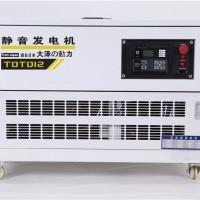 大泽动力10千瓦汽油发电机野外施工TOTO10