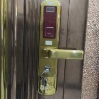 佛山  指纹门锁 家用防盗锁 入户门锁