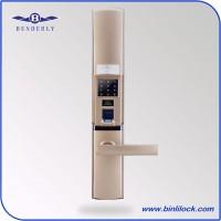 宾利时尚智能指纹密码门锁代理加盟,指纹密码门锁销售4006503900