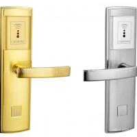 宾馆锌合金智能锁电镀不褪色高稳定酒店门锁