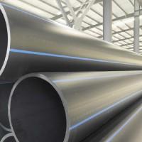 厂家现货直发pe管道φ125价格 pe管材 黑色pe给水管 pe排水管