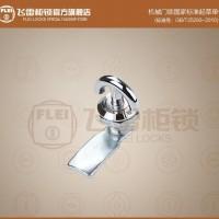 MS706圆形转舌锁 开关控制箱机柜门锁,带弧形把手