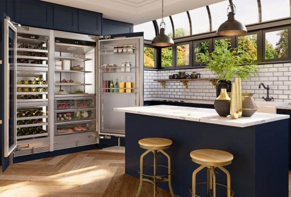 LIEBHERR利勃海尔冰箱优选Monolith嵌入式组合打造高品位厨房
